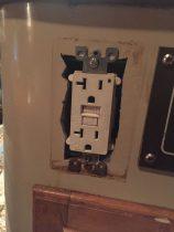 Restoring the 120 volt electrical system